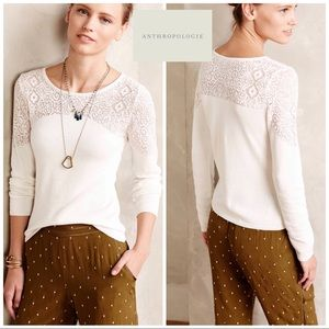 Anthropologie Knitted Knotted Nettie Pullover